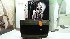 NWT LATICO Satchel Bag Tote Olive Hair Calf Leather W/ Front Slip Pocket
