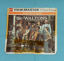 vintage 1972 THE WALTONS VIEW-MASTER REELS with booklet