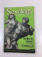 Sexology Magazine-Medical sex knowledge-September 1959 Vintage thought-Science