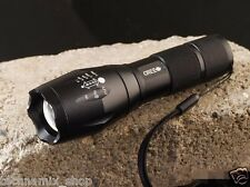 Ultrafire A100 1800 Lumens Zoomable Cree XML-T6 LED Flashlight Torch 5 Modes UK
