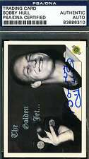 BOBBY HULL 1992 GOLDEN JET PSA/DNA CERTIFIED SIGNED AUTHENTIC AUTOGRAPH
