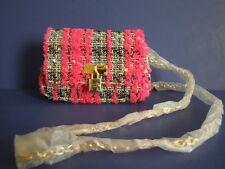 SUPER RARE BRAND NEW STUNNING TWEED MINI BAG ! SAMANTHA VEGA BY SAMANTHA THAVASA