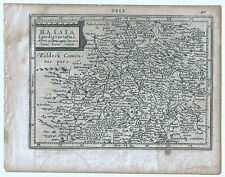 Carte ancienne MERCATOR HONDIUS map 1630 HESSE Kassel Seedorf Wildungen 411