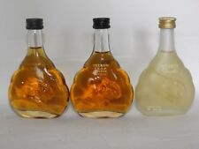 Cognac Meukow  Set 3 x 50 ml mini flaschen bottle miniature bottela
