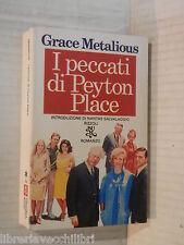 I PECCATI DI PEYTON PLACE Grace Metalious Nantas Salvalaggio Rizzoli 1981 libro