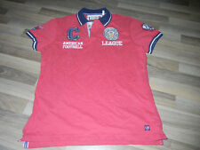 Camisa polo *** original camp david Polo-Shirt *** American Football *** talla L *** nuevo