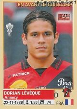 106 DORIAN LEVEQUE # EAG GUINGAMP STICKER PANINI FOOT 2015