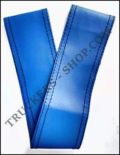 SCANIA R BLUE LEATHERETTE STEERING WHEEL COVER [TRUCK PARTS & ACCESSORIES]