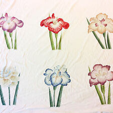 LCH22 CLARENCE HOUSE Kazumi Meiji Ratti Floral Hand Printed 100% Cotton Fabric