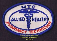 LMH Patch  MOULTRIE TECHNICAL COLLEGE  Allied Health  MTC PHARMACY TECHNICIAN GA