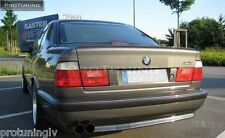BMW SERIE 5 e34 Berlina avvio tronco SPOILER LIP WING Trim Tappo m5 M Tech M 5 4d