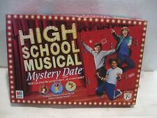 Disney High School Musical Mystery Date 2006 Board Game From Milton Bradley gm97