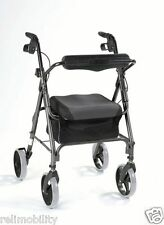Comfort Foldable Rollator Walker - Mobility Aids - Elderly Aid - Disability Aid