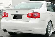 VW-Jetta MK5 5 Sedan Rear Euro Trunk Boot Spoiler Lip Wing Sport Trim Lid R Line