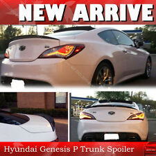 Genesis Carbon Fiber Coupe Rear Performance Type Trunk Spoiler Wing §