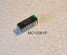 Mc12061p Motorola OSCILLATORE XTAL IC 2-20mhz sinusoide fuori!