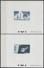 Frankreich France 1965 ** Mi.1530/31 EPREUVE DE LUXE Weltraum Space Espace