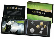 2013 RAM 6 COIN PROOF SET WITH GOLD PLATED 20c COIN