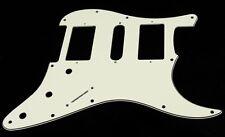 NEW PICKGUARD STRATOCASTER HSH - parchment - 3 ply pour Fender, Squier ...
