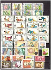 s1707) VIETNAM Collection of Used stamps (as per scan)