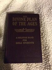 DIVINE PLAN OF THE AGES STUDIES IN THE SCRIPTURES JEHOVAH WATCHTOWER ORIGINAL