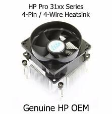 HP Pro 31xx Series (SFF & MiniTower) Aluminium CPU Processor Heatsink and Fan