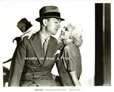 JEAN HARLOW IS RECKLESS HOLLYWOOD MGM VICTOR FLEMING FILM STILL #4