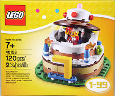 LEGO 40153 Geburtstagstischdekoration Torte 1-99 Clown Exclusiv RAR NEU Sealed