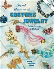 "Signed Beauties of COSTUME JEWELRY by Marcia ""Sparkles"" Brown Updated 2004 Value"