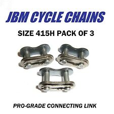 415H Chain Connecting Link, 415H Master Link, Motorized Bike Link 3 Pack