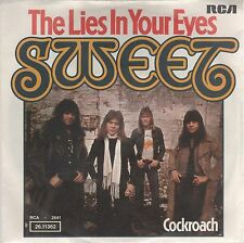"""SWEET THE LIES IN YOUR EYES/ COCKROACH 7"""" 45 GIRI"""