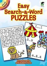 Easy Search-a-Word Puzzles (Dover Little Activity Books) by Anna Pomaska, Suzan