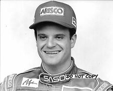 Rubens Barrichello Original Nigel Snowdon B&W Period Press F1 Jordan Portrait