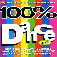 100% DANCE HITS [TELSTAR] NEW CD