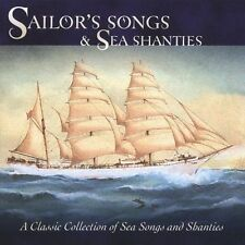 NEW Sailors' Songs & Sea Shanties CD (CD) Free P&H