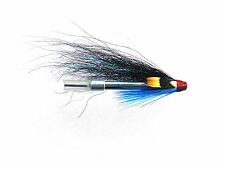 3 x aluminium tube fly for sea trout or salmon