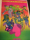 Rare Peter Max Apollo Pop Op Psychedelic Art Poster Print Don't Smoke