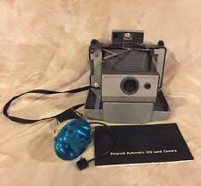 VTG Polaroid Automatic 103 Land Camera with Case Manual and Flash
