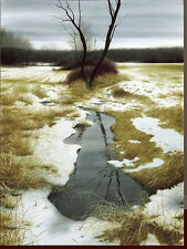 """MARCH BROOK""ENHANCED ARTIST PROOF BY ALEXANDER VOLKOV***LAST ONE AVAILABLE***"
