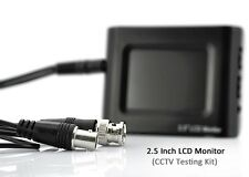 "2.5"" Portable LCD Monitor for CCTV Tester or Car, Home or Office Security"
