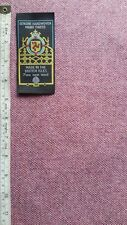 Speckled Pink Handwoven Manx Tweed Fabric 1m 100% Wool