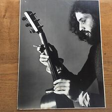 Superb Vintage 1978 Hippy Musician Photo tuning Guitar Woolston Camera Club