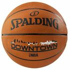 Spalding Downtown Outdoor Basketball Size 7 Adult Tan Basket Ball Rubber Train