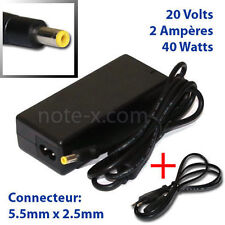 20V 2A ADAPTER LAPTOP CHARGER FOR MSI Wind U135 MS-N014 UMPC