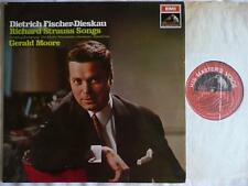 FISCHER DIESKAU SINGS R. STRAUSS SONGS WITH GERALD MOORE PIANO EMI ASD 2399 S/C