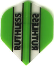 GREEN/CLEAR RUTHLESS Dart Flights: 3 per set