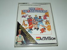 THE REAL GHOSTBUSTERS by ACTIVISION (1989) for COMMODORE C64
