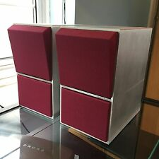 Bang & Olufsen CX50 Brushed aluminium New Mulberry coloured Acoustic cloth