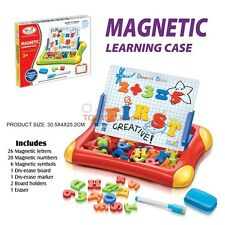 Alphabets + Numbers Magnetic Learning Foldable Case - Preschool Educational Toys