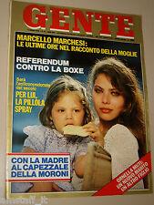 GENTE=1978/31=ORNELLA MUTI NAIKE=ANNA OXA=ANGELO JACOPUCCI=MARCELLO MARCHESI=